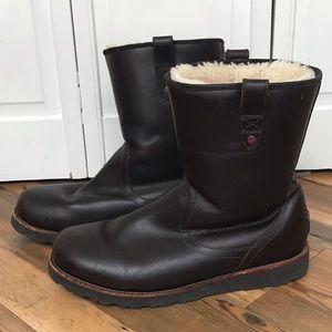 UGG men's leather boots
